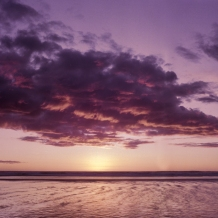 9. Yeah, why not a purple sunset too. I don't really feel the need for photos to look realistic, as long as they look good. As long as the color editing isn't distracting, I think it is fine. I think this one hits that mark.
